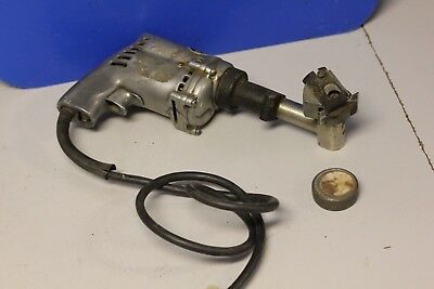 Vintage MALL TOOL COMPANY CHICAGO MALL DRILL w/ 10 blades 143T Electric