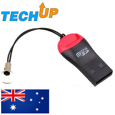 Micro mini SD to USB 2.0 card reader adapter, M2 T-flash, SDHC
