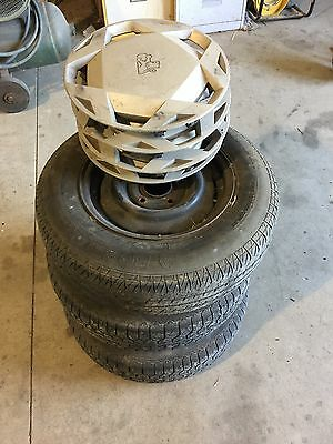 VL Commodore Wheels X 3 And 4 Wheel Covers.