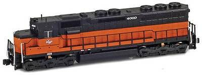 AZL  Z Scale Milwaukee Road SD45 Locomotive Road Number 4000