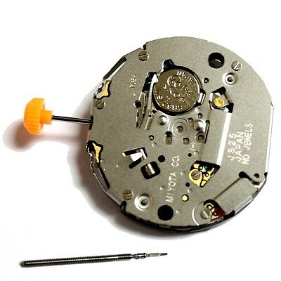MIYOTA JS25 Quartz Watch Movement with date Battery Included Replace Repair
