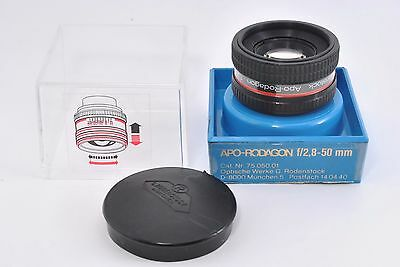Excellent* Rodenstock Apo-Rodagon 50mm f2.8 Enlarging Lens w/ Case from Japan