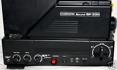 """CHINON  Sound Super 8SP-330 projector. I only sell"""" The BEST"""" must see...."""