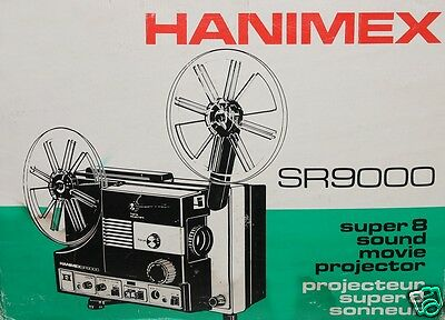 """Hanimex Sound SR-9000 Super 8 /S8 projector. I only sell"""" The BEST""""as NEW...BEST"""