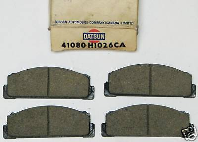 Brake Pads - 1970's Foreign - Datsun, Toyota, Fiat, #41080-H1026