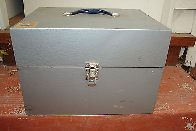 Industrial Metal File  Storage Box  With Key