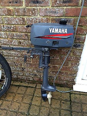 2001 YAMAHA 2HP OUTBOARD BOAT MOTOR ENGINE Just Serviced