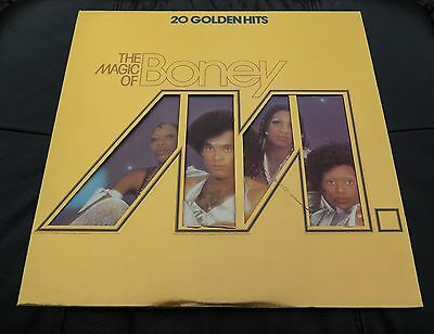 "The Magic Of Boney M 20 Golden Hits 12"" Vinyl"