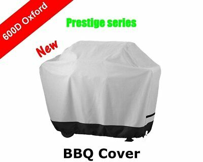New Prestige Outdoor Gas BBQ Barbecue Cover 600D Oxford Rain Dust UV Protection