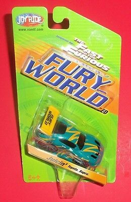 Ertl Joy Ride Fury World - New - Juicin' Toyota Supra - The Fast And The Furious