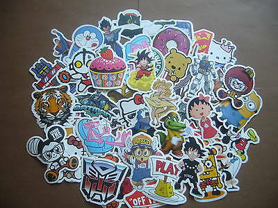 100PC Pack Luggage Car Bike Skateboard Laptop Scooter Motorcycle Bomb Stickers