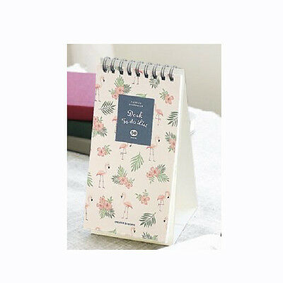 Iconic Weekly Monthly Desk Pad Ver.2 Pattern Scheduler (Daily To Do)