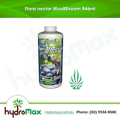 General Hydroponics 946 MilliLitre Flora Nectar Blue Berry Dream NPK 0-0-1