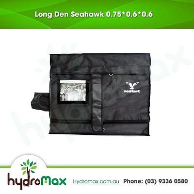 Hydroponic SeaHawk Grow Tent 75 cm x 60cm x  60cm Durable Quality Indoor Grower