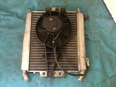 Piaggio X8 125 - Rad Radiator & Cooling Fan