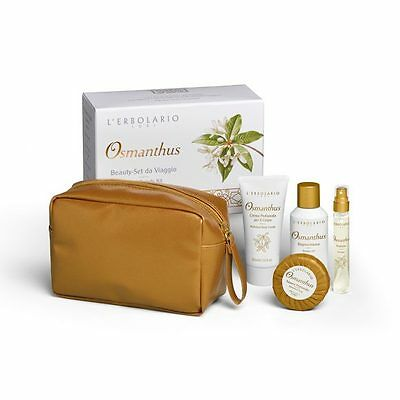 L'Erbolario Osmanthus Beauty Set da Viaggio