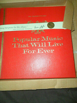 Popular Music That Will Live For Ever -Readers Digest 12 record  vinyl  set