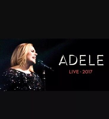 Adele Sydney A Reserve 2 tickets 11th March