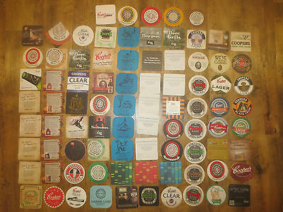 82 Different COOPER BREWERY South Australia  Issue BEER COASTERS