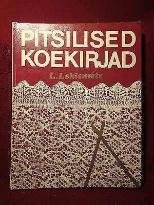 KNITTING LACEMAKING HARDCOVER BOOK 168 pages , mostly pictures