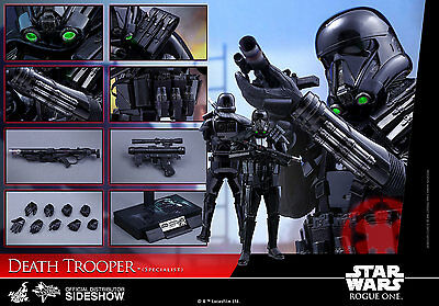 "HOT TOYS DEATH TROOPER SPECIALIST STAR WARS ROGUE ONE 1/6 Sixth Scale 12"" Figure"