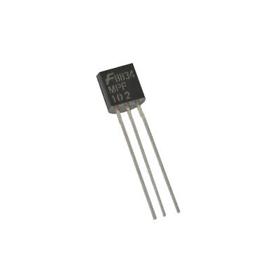 MPF102 JFET N-Channel RF Amplifier, Transistor - Fairchild, Pack of 1, 2 or 5