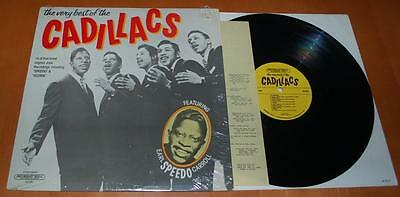 The Cadillacs - The Very Best Of - 1988 US Vinyl LP