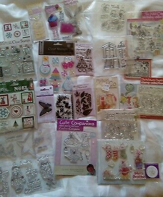 Joblot Of Acrylic Stamps