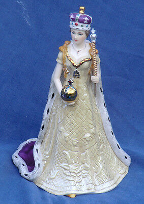 Spode Queen Elizabeth II Golden Jubilee Ltd Edition figurine + certificate