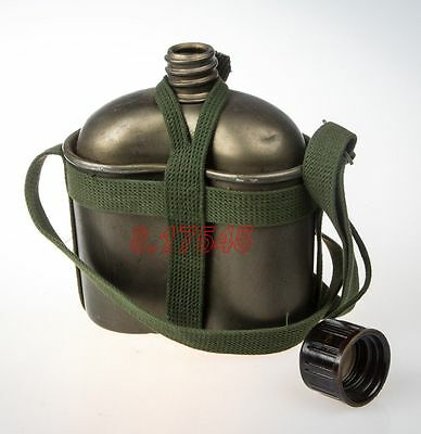 High Quallty Chinese Army 83 Type Canteen Militaire Aluminium Water Jug