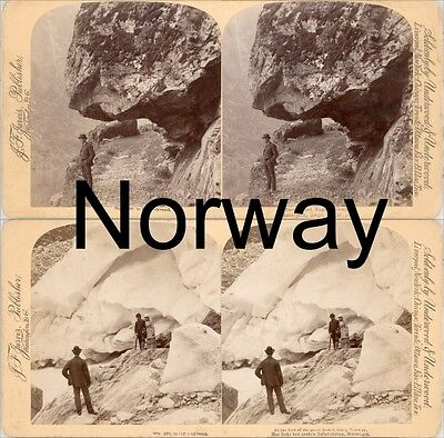 18 Stereoviews Norway, Norwegen, and more,  Lot 3