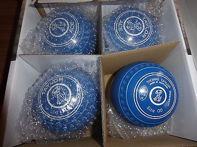 Thomas Taylor Ace Size 00 Heavy Blue Gripped Bowls