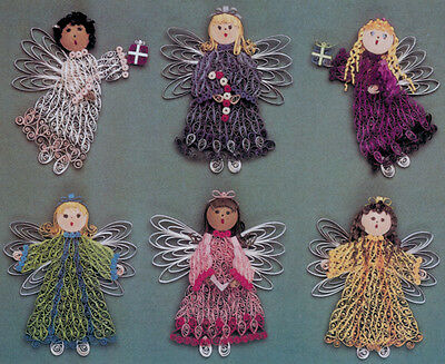 Lake City Craft Quilling Kit - Christmas Angels