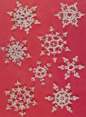 Lake City Craft Quilling Kit - Snowflakes (Red)