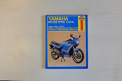 Yamaha RD350 YPVS Twins Owners Workshop Manual