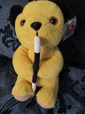 """""""sooty"""" Tv Character Plush Toy By Cadells 2009 Child's Collectable Bnwt So Soft"""