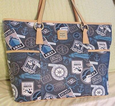 NWT Dooney Bourke Disney DCL Cruise Line large tote bag