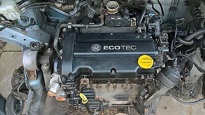 Vauxhall Corsa D 2007 - 1.2 petrol complete engine
