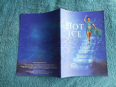 1998 Programme Hot Ice The Ice Show Blackpool Pleasure Beach