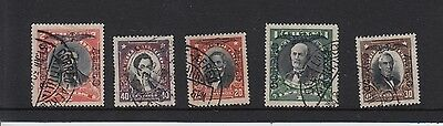 W15 Selection Chile stamps-Fine Used