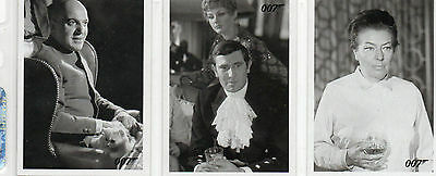 James Bond - On Her Majestys Secret Service - Lot of 28 Throwback Cards NM