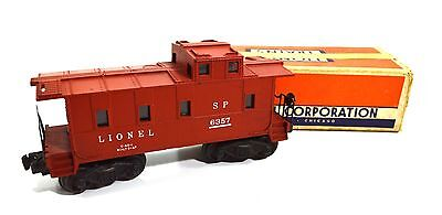 LIONEL 6357 SP LIGHTED CABOOSE OB, CLEAN,Post War with box
