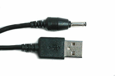 90cm USB Black Charger Cable for Motorola MBP621-S Parent's Unit Baby Monitor