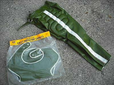 Vintage NOS Motorcross pants and chest protector