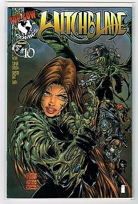 Witchblade #10 1st Darkness appearance, Michael Turner & Marc Silvestri Cover