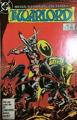 The Warlord #110 1986