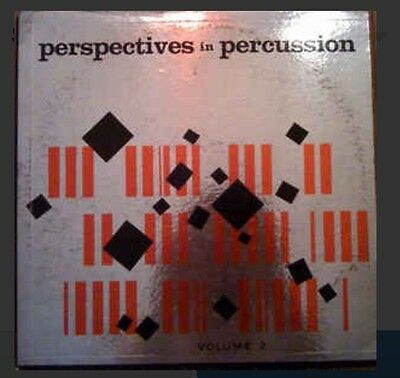 Skip Martin ‎'Perspectives In Percussion: Volume 2‎' RARE JAZZ/EXPERIMENTAL LP M