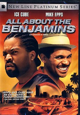 NEW DVD // ALL ABOUT THE BENJAMINS - Ice Cube, Mike Epps, Eva Mendes, Tommy Flan