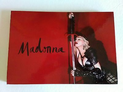 MADONNA Rebel Heart Tour VIP Book Limited Edition  2015