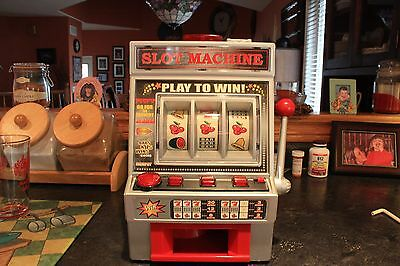 Slot machine with real sound